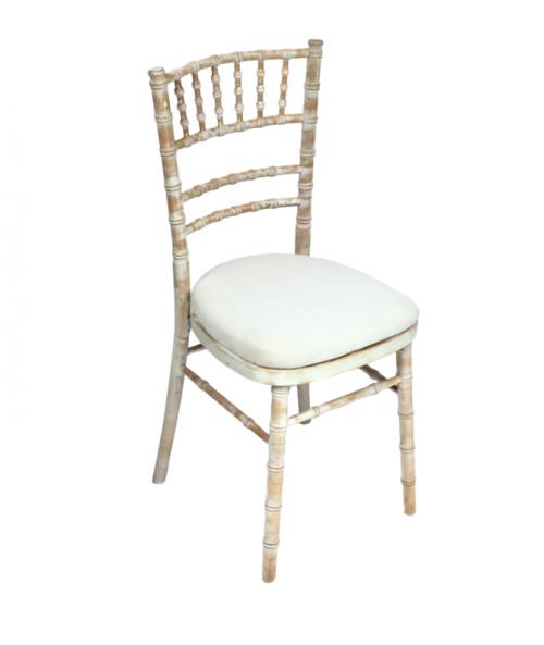 Aluguer Cadeira Chiavari Decapé com Coxim Cru Alugar Evento. Magnezya Event Support