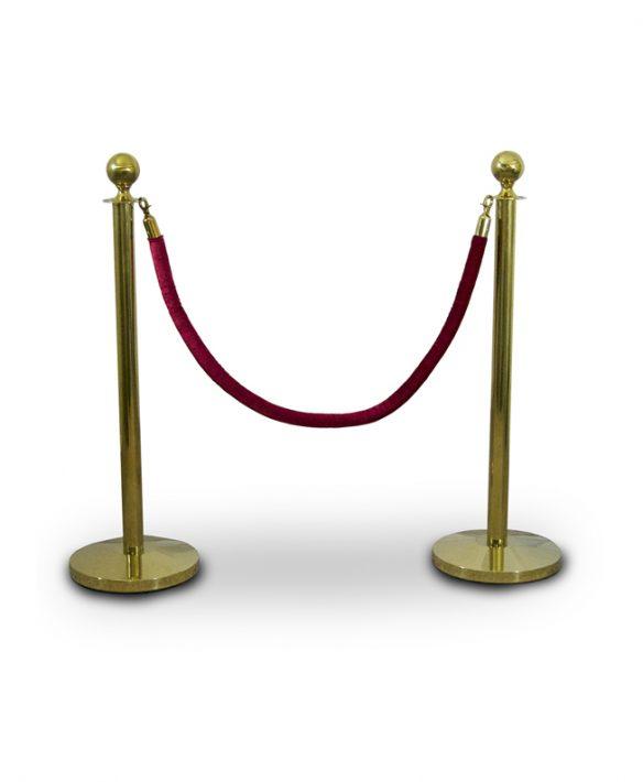 Aluguer Poste Cordão Dourado Alugar Eventos. Magnezya Event Support