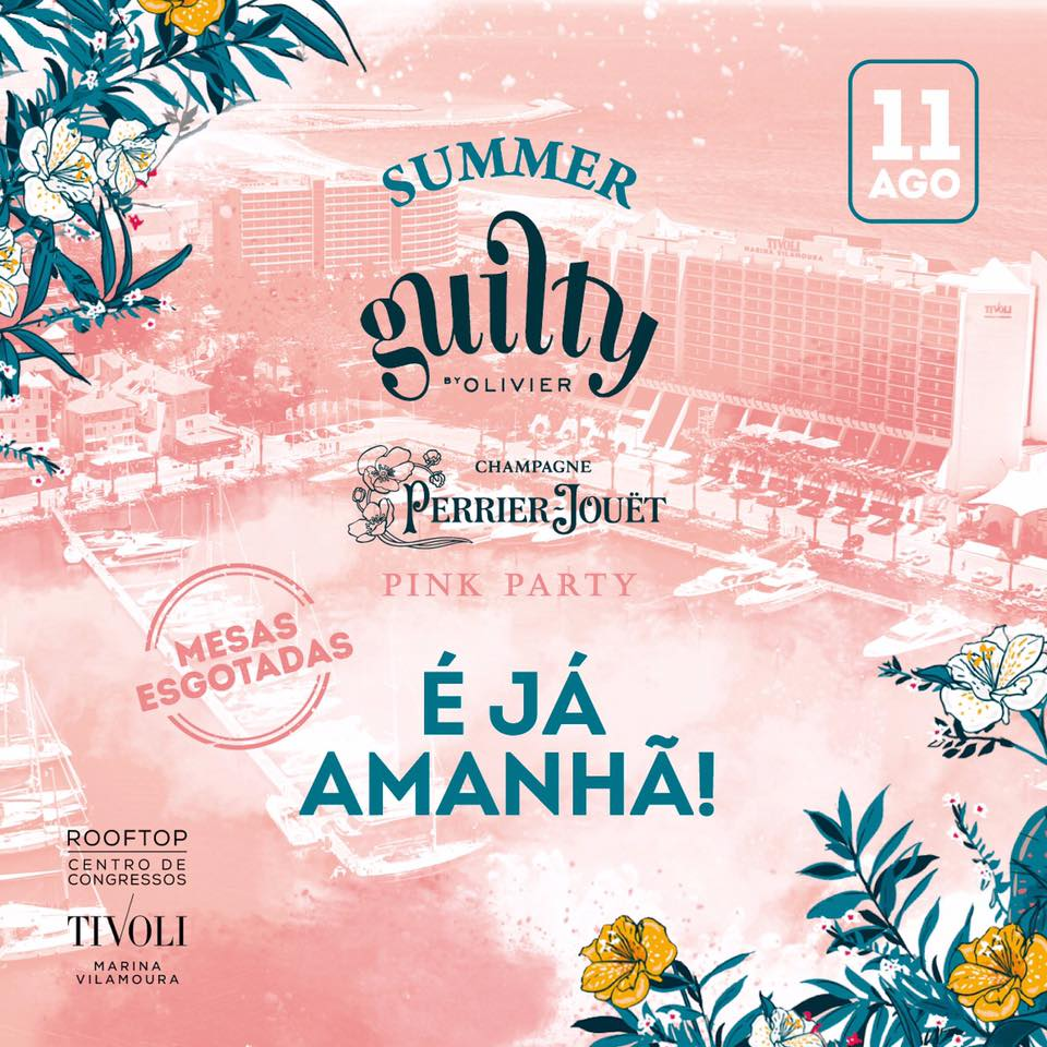 Summer Guilty Perrier Jouët Pink Party