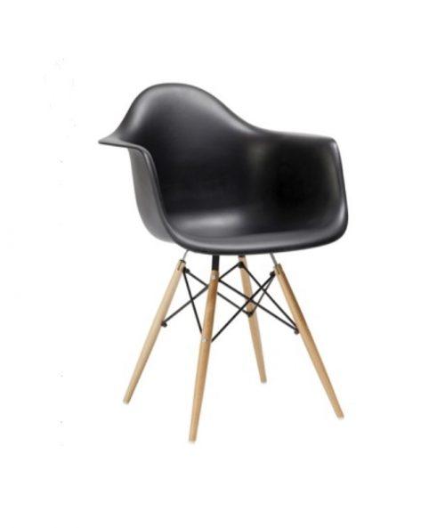 Aluguer Cadeira Daw Eiffel Preto. Magnezya Event Support