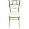 Aluguer Cadeira Tiffany c Coxim Cru Alugar Evento. Magnezya Event Support